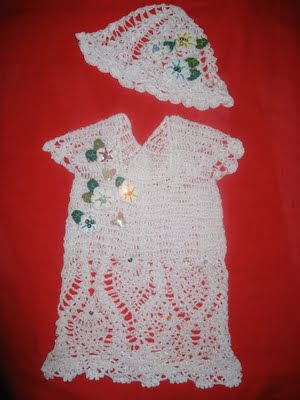 Купить летнее ажурное платье для девочки на год