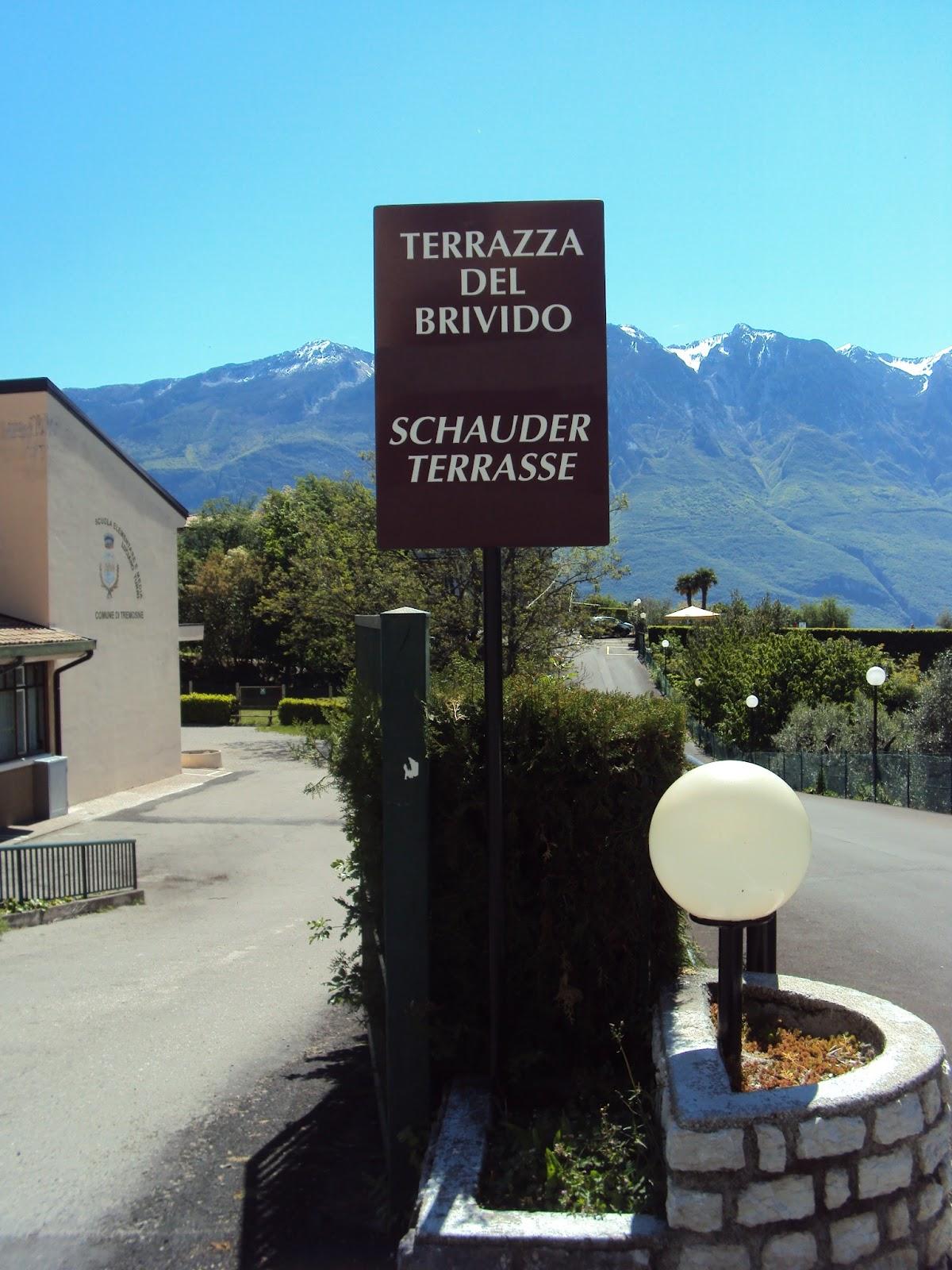 tutto musei: Terrazza del Brivido - Tremosine (BS)
