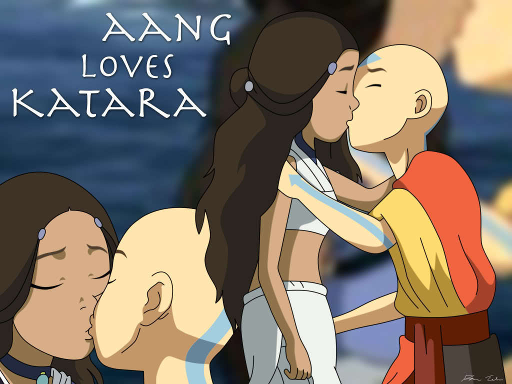 Avatar The Last Airbender Aang And Katara