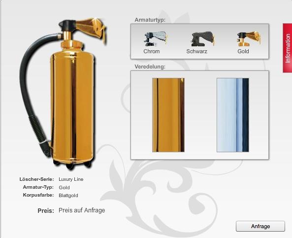 phoenixfeuerschutz design feuerl scher stylischer brandschutz. Black Bedroom Furniture Sets. Home Design Ideas