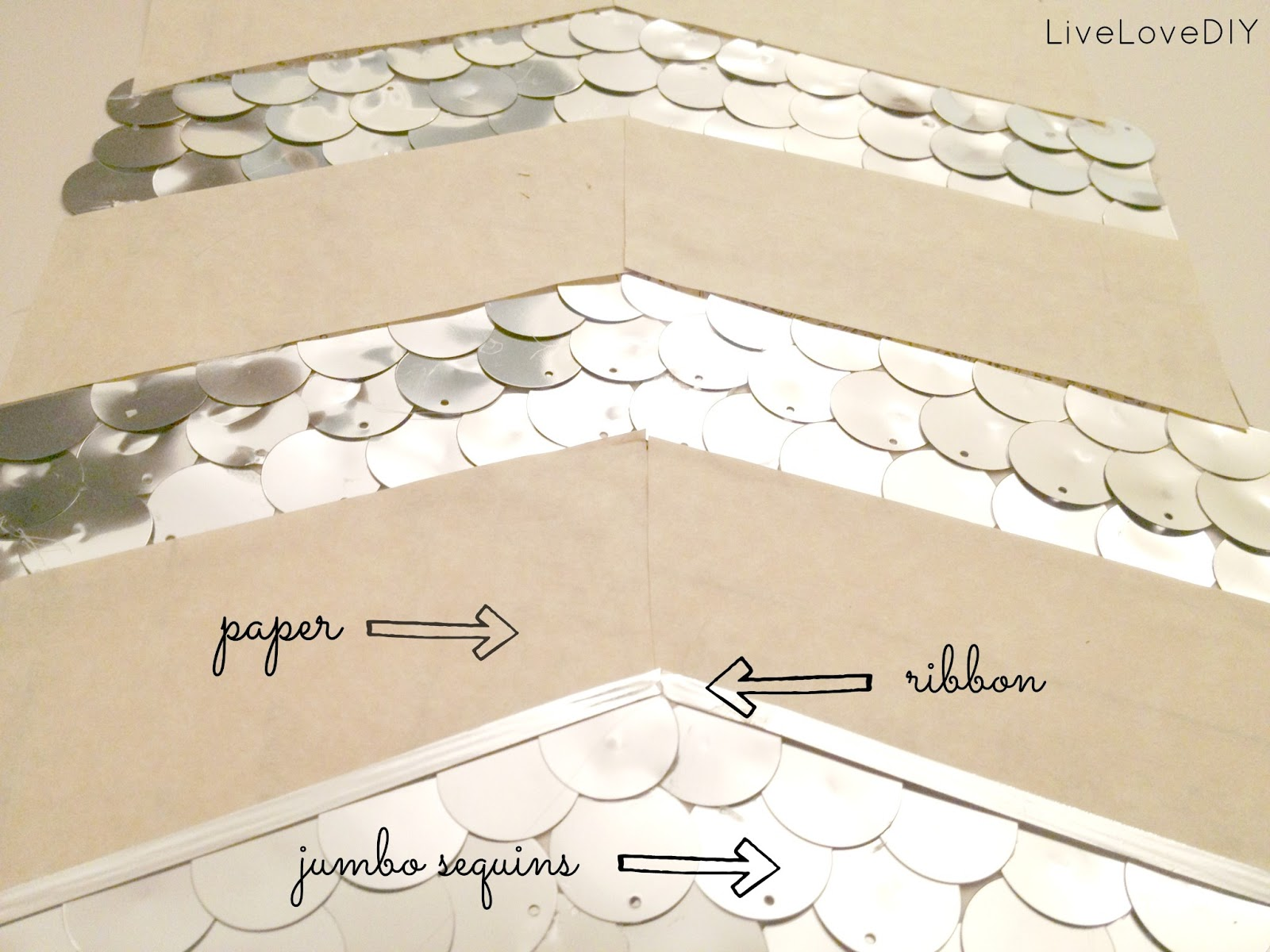 Livelovediy how to make diy sequin art then solutioingenieria Gallery