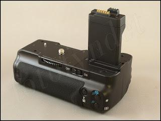 Batterigrepp för Canon EOS 450D