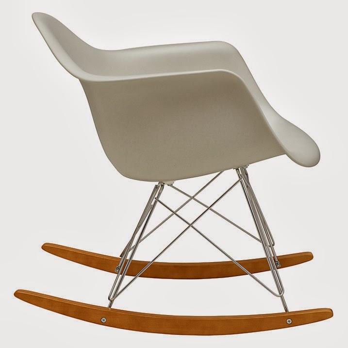 Vitra eames rar rocking chair white - Eams rocking chair ...