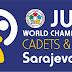CAMPEONATO DEL MUNDO CADETE - SARAJEVO 2015. <BR>Del 4 al 8 de agosto.