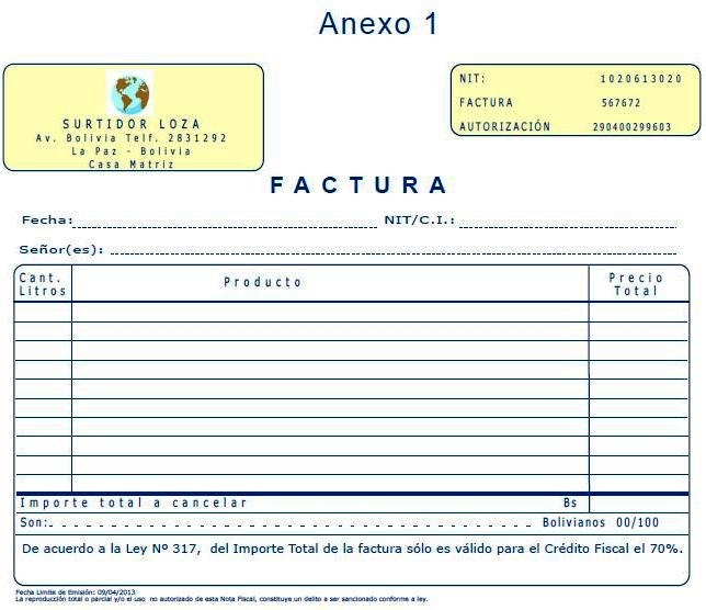 comunidad de contadores públicos autorizados auditores factura en
