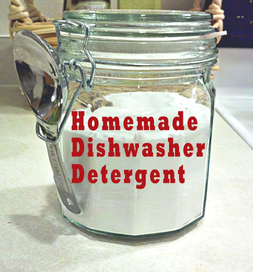 Homemade Dishwasher Detergent Revised One Good Thing By