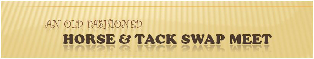 Tack & Horse Sale
