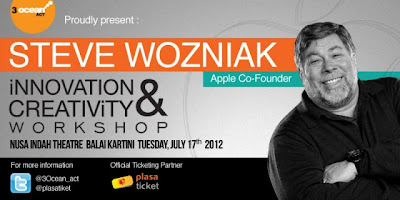 Seminar Steve Wozniak | Innovation & Creativity
