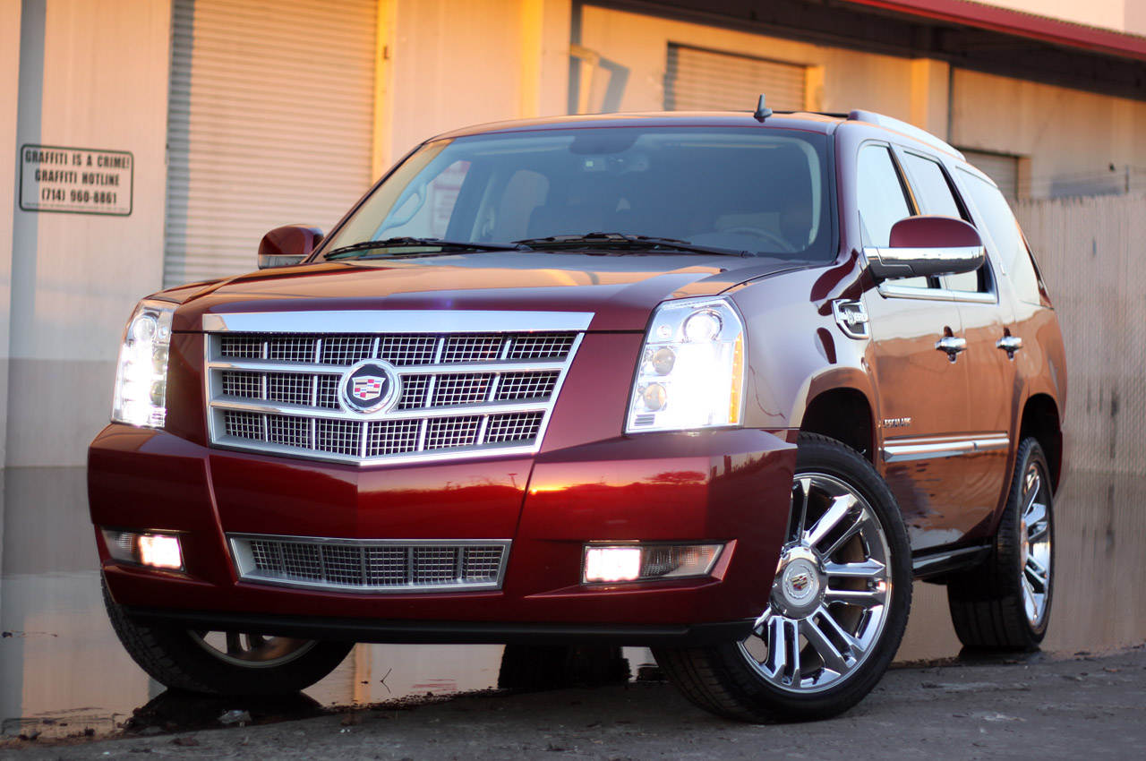2012 cadillac escalade hybrid platinum slex. Black Bedroom Furniture Sets. Home Design Ideas