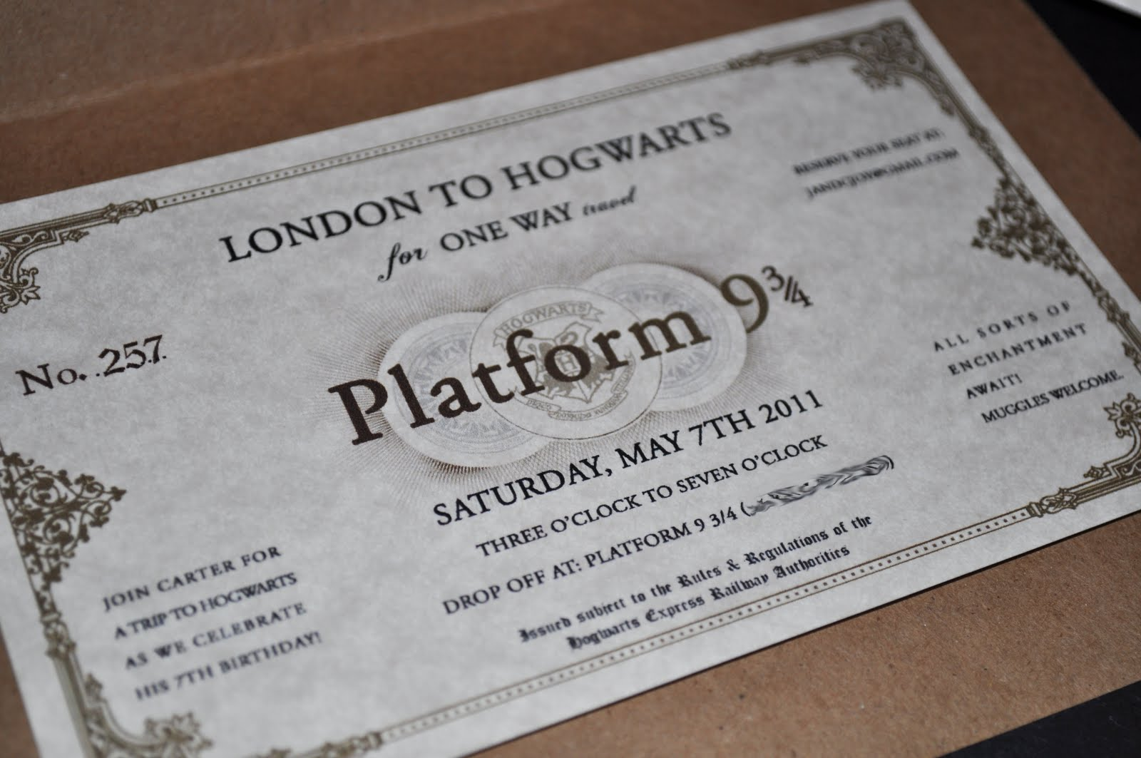 Harry Potter Party Invitations correctly perfect ideas for your invitation layout