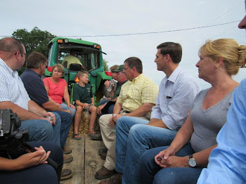 Senator Ritchie Meets With Farmers in Southern Jefferson County to Hear Draught Woes
