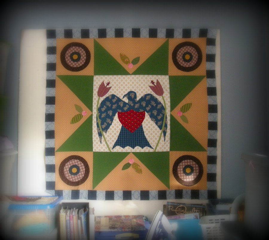 Thinking About the Importance of Quilty Blogging and Some Eagle Quilt Progress