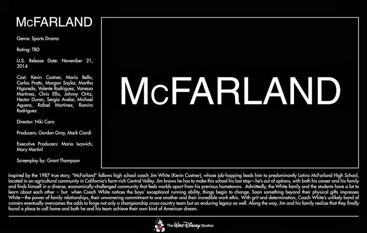 November 21, 2014 – McFarland