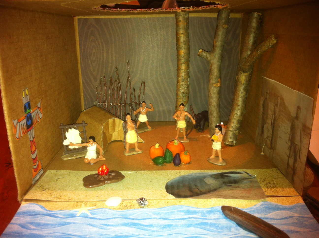 Indian Dioramas http://www.dioramasandcleverthings.com/2012/10/makah-indian-diorama.html