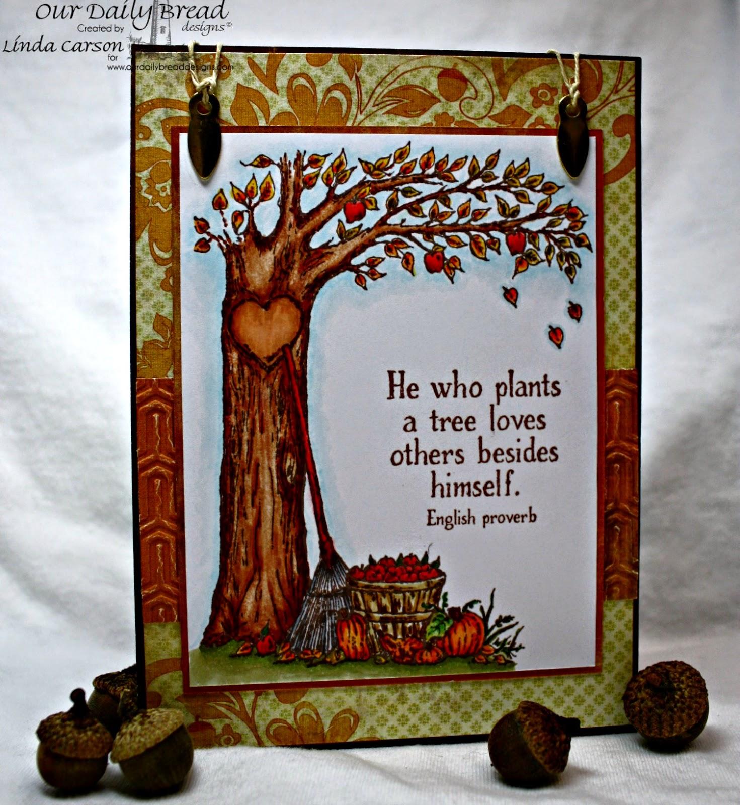 ODBD, Autumn Tree, designer Linda Carson