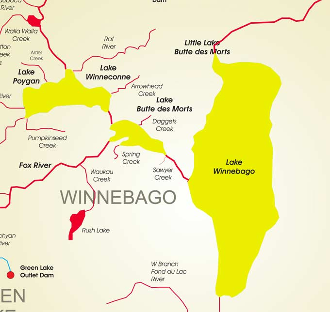 Wisconsin fishing reports battle on bago 2013 for Wisconsin out of state fishing license
