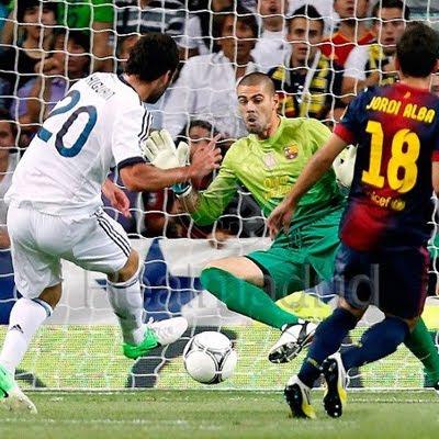Real Madrid FC Barcelona 2-1 Supercopa vídeo goles resumen