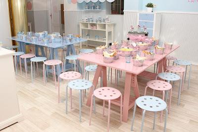 Mesas decoradas para cumplea os de ni os decoracion de for Cumpleanos cocina para ninos