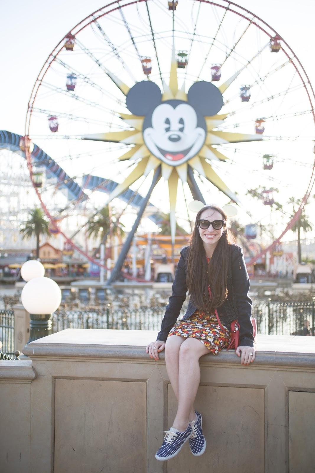 California Adventure Mickeys Fun Wheel