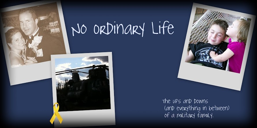 No Ordinary Life: the ups and downs (and everything in between)...