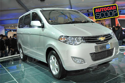 Chevrolet MPV to be called 'Enjoy'