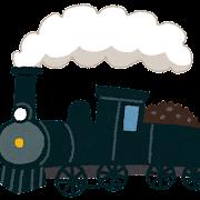 蒸気機関車・汽車のイラスト
