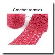 Crochet scarves