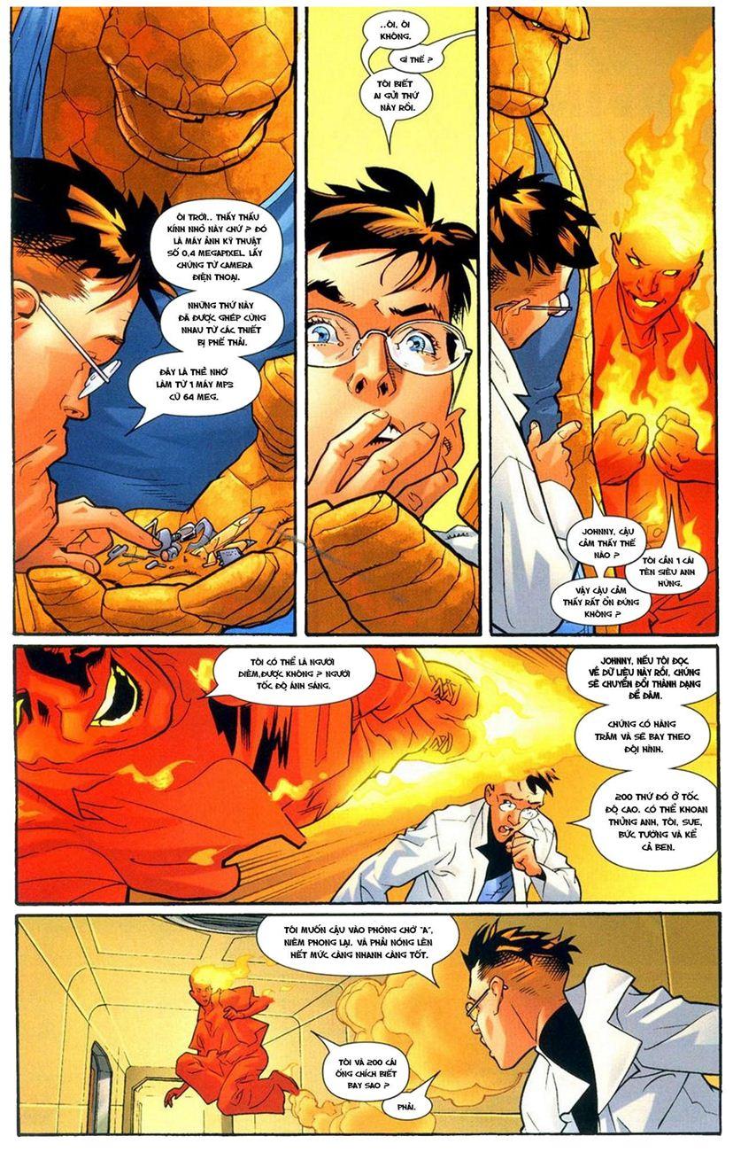 Ultimate Fantastic Four chap 9 - Trang 13