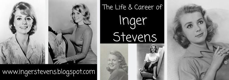 My Inger Stevens Blog