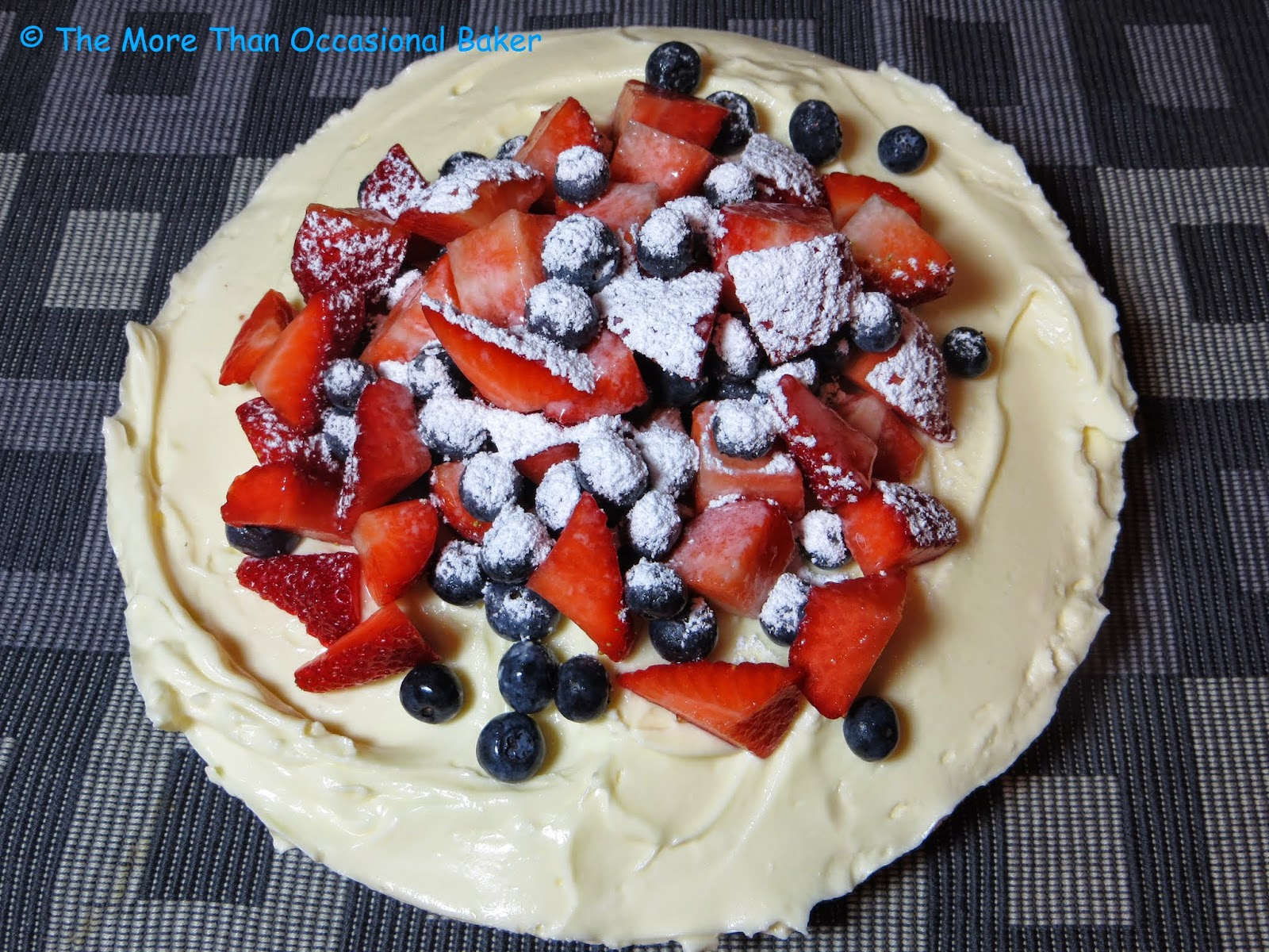 The more than occasional baker: Mary Berry Lemon Cheesecake