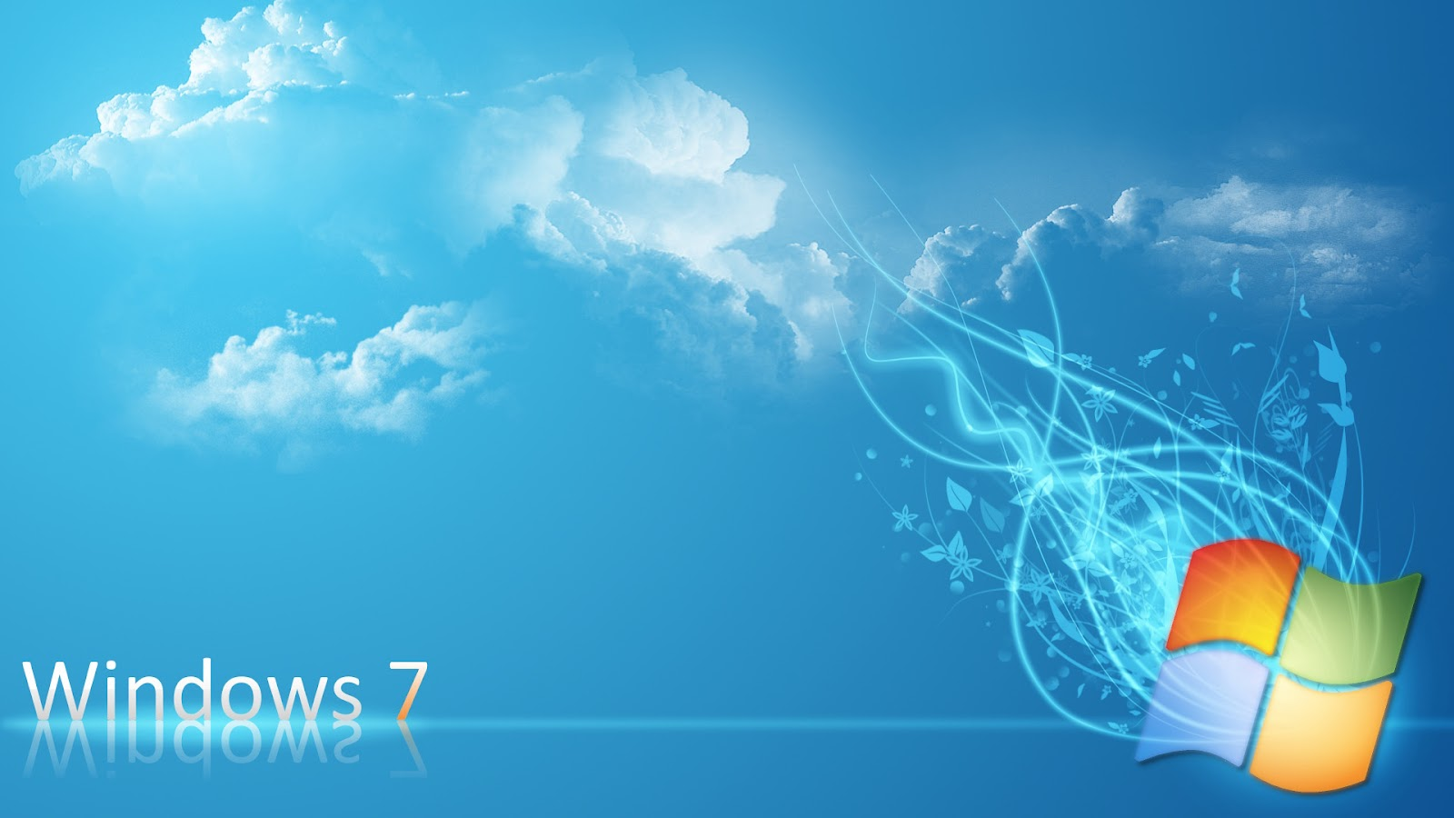 Windows 7 Blue And Light Colored HD Wallpapers