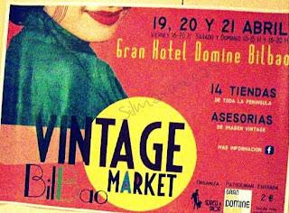 Vintage market Bilbao-