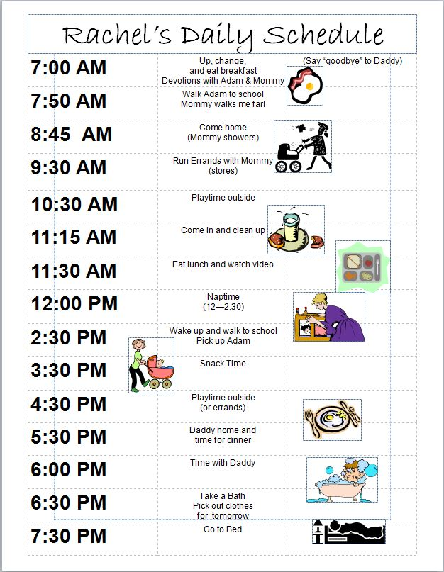 Daily Schedule 8 Month Old Baby – imvcorp