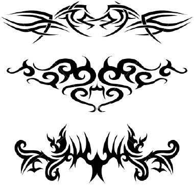 Mens Shoulder Tattoo Designs on Back Tattoo Designs For Men Tattoos Picture8 Upper Back Tribal Tattoo