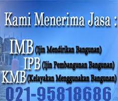 Konsultan Jasa Pengurusan IMB di DKI Jakarta