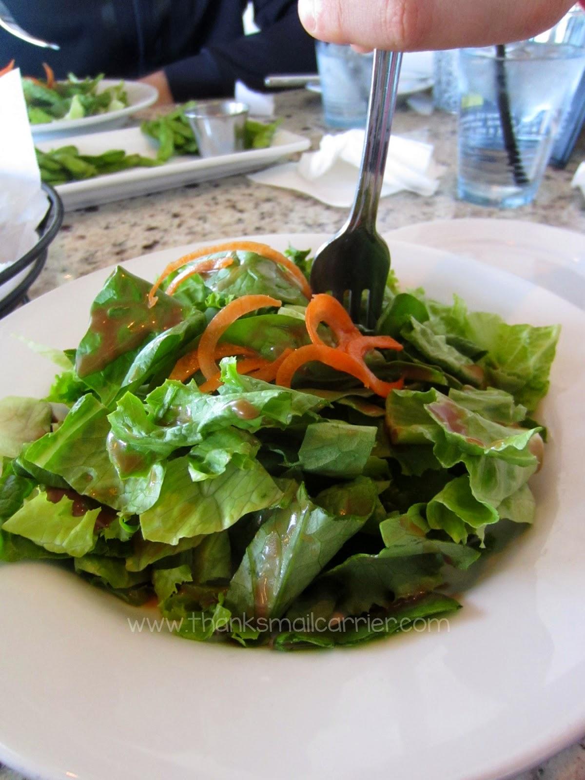 Pearl Bistro salads