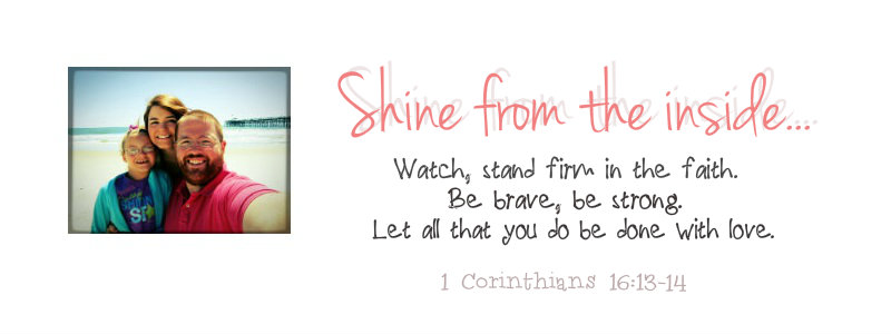 Shine from the inside...