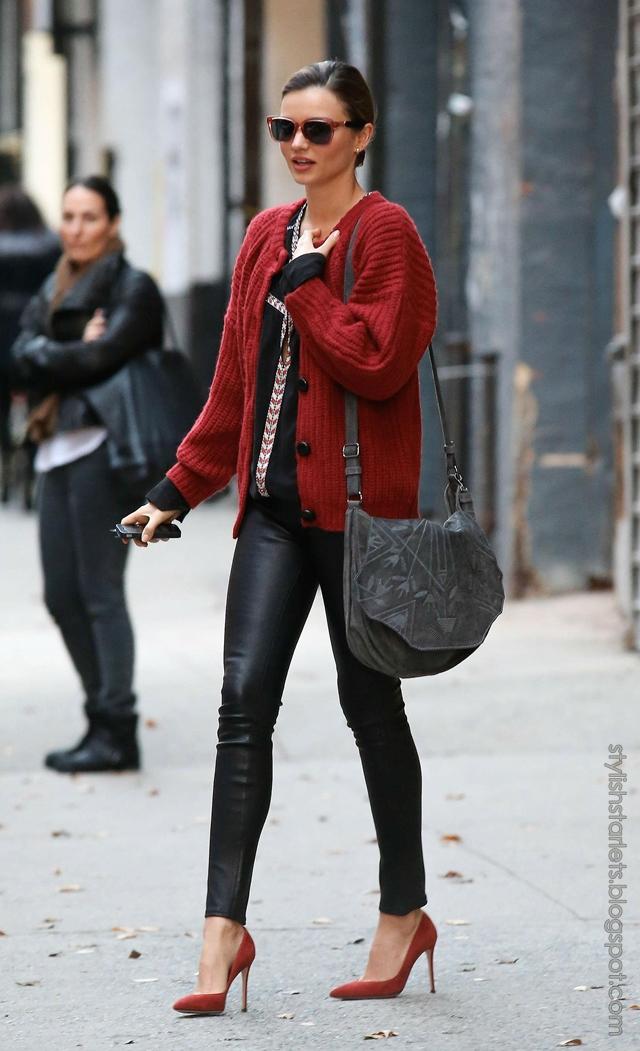 Street Style Miranda Kerr Stylish Starlets