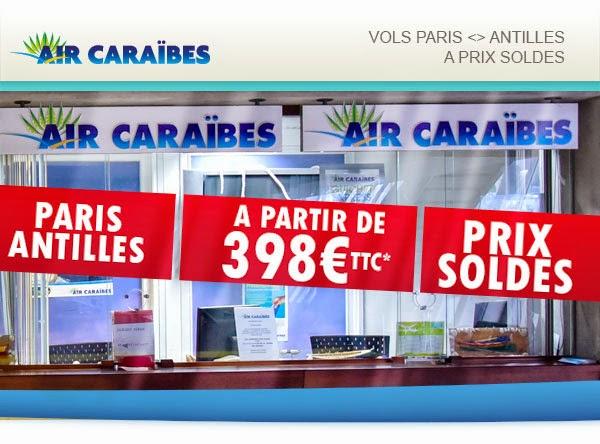 Bons plans voyages Antilles. Promo Guadeloupe et Martinique