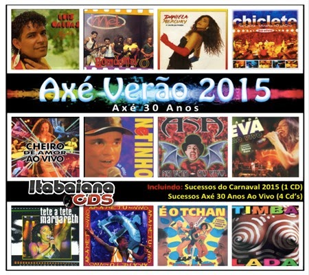 Coletânea Axé Verão 2015