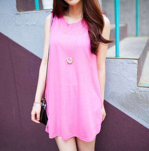 Kstylick Latest Korean Fashion K Pop Styles Fashion Blog 2fb Basic Sleeveless Dress