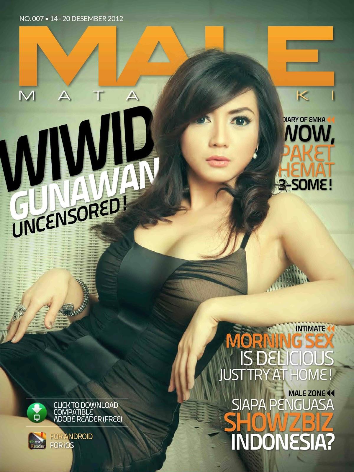 Wiwid Gunawan: Cover MALE Magazine