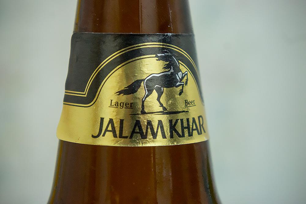 Mongolskie piwo Jalam Khar