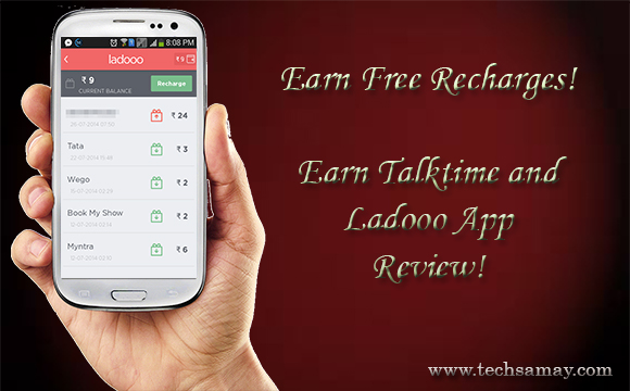 Earn free Recharges From ETT and Ladooo App