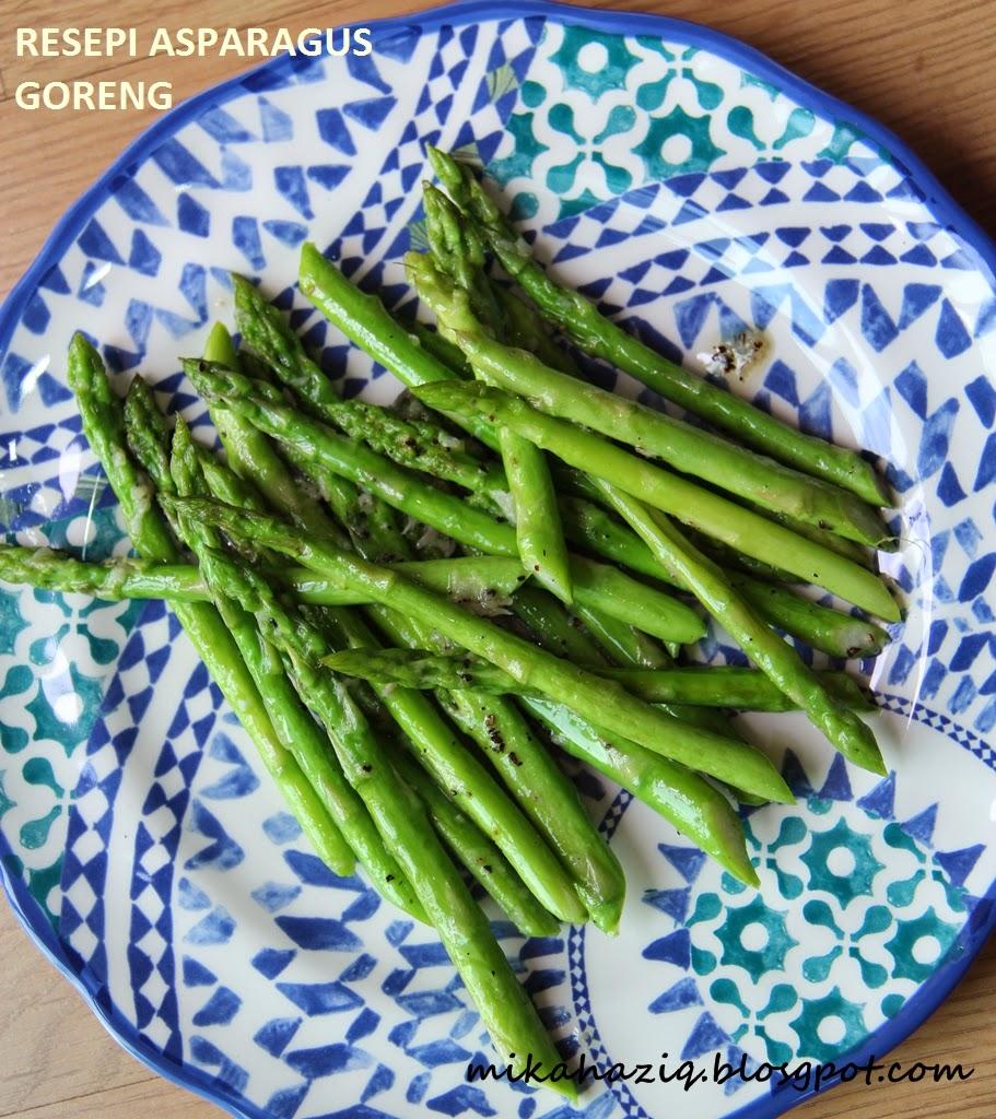 mikahaziq: Resepi Asparagus Yang Paling Simple!!