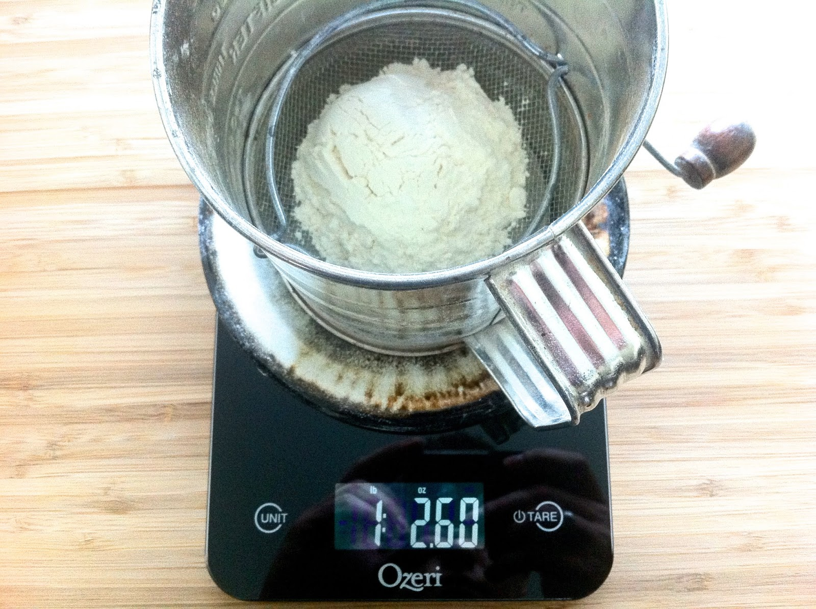 Measuring Flour