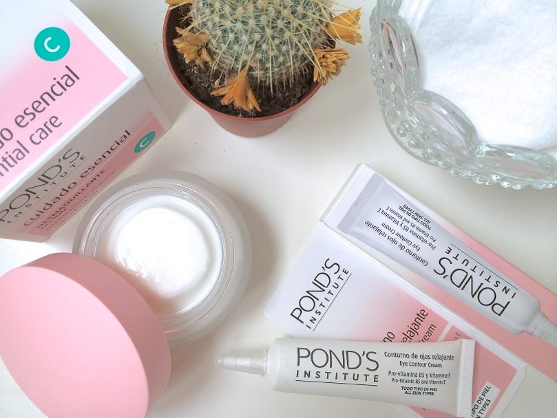 beauty blogger, uk beauty blogger, review, swatch, ponds skincare, cold cream, ponds cold cream cleanser, ponds eye contour cream, skincare review