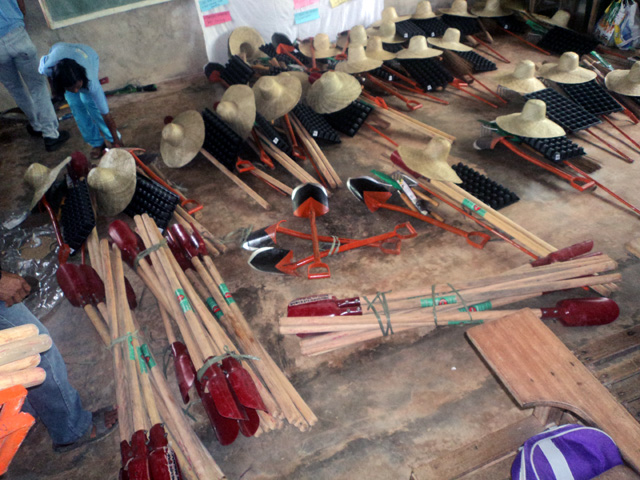 Pantawid families graduated on Organic Farming
