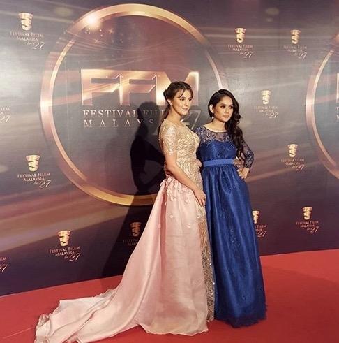 Gambar Memukau Juliana Evans di Festival Filem Malaysia ke 27