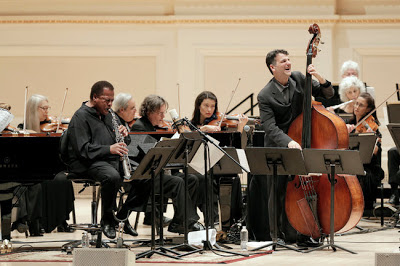 Wayne Shorter, John Patitucci and the Orpheus Chamber Ensemble